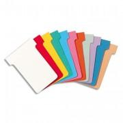 Etui de 100 fiches T en carton 170 g/m2 indice 2 blanc - NOBO