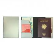 Etui passeport en synderme - Monté : 10.50 x 14.50 x 1.00 cm