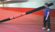 Etui perche de saut athlétisme - Matière : Vinyle recouvert de nylon