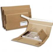 Etui postal livre 43 x 31 cm - Double protection - hauteur  jusqu'à 8 cm