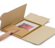 Etui postal pour cadre - Dimensions Lxlxh (mm) : 66 x 55 x 1/7