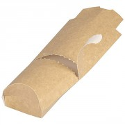 Étui sandwich kraft - Dimensions (L x l) : 228 x 85 mm