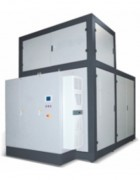 Evaporateur sous vide à flot tombant - Puissance spécifique utile (Km³) : de 36 à 85