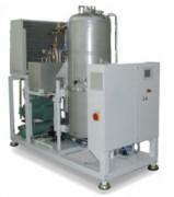 Evaporateur sous vide à fluide frigorigène - Débit (L/h) : de 40 - 400