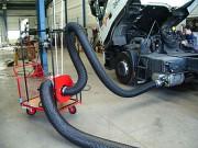 Extracteur gaz echappement - Débit : jusqu'à 3500 M3/H