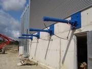 Extracteur industriel à cadres - Pour silos à fond plat