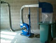 Extracteur Mobile - Aspiration dechets, fumées, gaz & odeurs