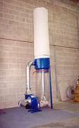 Extracteur pour aspiration de dechets - Ensacheur