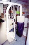 Extracteur pour aspirations de déchets - Permet d'extraire les lisières