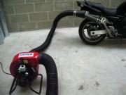 Extracteur pour gaz d'échappement moto - Extracteur ateliers motos