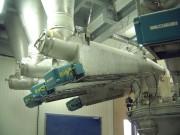 Extracteur tubulaire vibrant