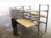 Extraction et stockage sur tiroir - Stockeur universel de proximité