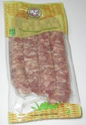 Fabricant bio chipolata porc - Lot de 4 chipolatas
