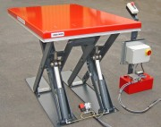 Fabrication table elevatrice - De nombreuses adaptations possibles