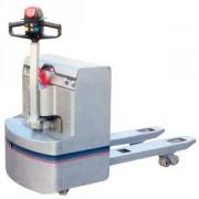 Fabrication Transpalette électrique inox - Transpalette tout inox - Existe en version Atex