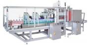 Fardeleuse automatique pour lots - Produits ronds ou rectangulaires - Alimentation en ligne sur 4 rangées