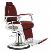 Fauteuil barbier homme - Structure et habillage métalliques
