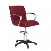 Fauteuil coiffage à accoudoirs - Dimensions du fauteuil (L x P x H) : 58 x 60 x 84/99 cm