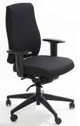 Fauteuil de bureau ergonomique à dossier rembourré - Hauteur d'assise : 47 - 61cm
