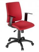 Fauteuil de bureau moyen dossier à accoudoirs - Profondeur d'assise : 450 mm - Largeur d'assise : 470 mm