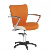Fauteuil de coiffure ergonomique - Dimensions du fauteuil (L x P x H) : 66 x 62 x 83/93 cm