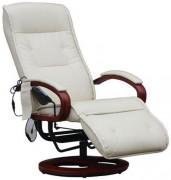 Fauteuil de massage - Hauteur d'assise :  98 -118  cm - Hauteur totale : 143  cm