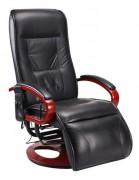 Fauteuil de relaxation massant - Assise orientable 360 °
