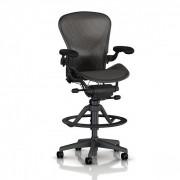 Fauteuil dessinateur ergonomique - Dimensions (l x pf x h) : 68.5 x 56.5 x 107.5