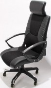 Fauteuil direction avec roulette - Hauteur d'assise : 45-55 cm - Hauteur totale :  120-130 cm