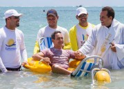 Fauteuil flottant amphibie - Capacité de poids maximale : 113 Kg