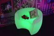 Fauteuil lumineux Led-RGB - Fauteuils et chaises Led pour bars et Lounge