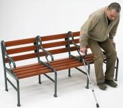Fauteuil médico-social en bois - Rallongeable à souhait