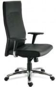 Fauteuil moderne en simili cuir - Hauteur d'assise : 38-45  cm - Hauteur totale : 112-121 cm