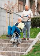 Fauteuil monte-escaliers d'extérieur - Capacité de charge maximale : 120 ou 150 kg