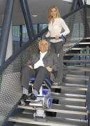Fauteuil monte-escaliers électrique