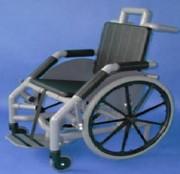 Fauteuil roulant 130 kg - Charge maxi :130 kg