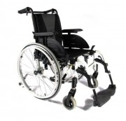 Fauteuil roulant manuel PMR pliable - Convertible en fauteuil roulant manuel léger avec roues