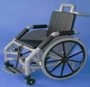 Fauteuil roulant IRM - Charge maxi :130  kg