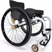 Fauteuil roulant manuel à dossier réglable - Fauteuils roulants PMR grande légèreté : 7,7 kg