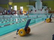 Fauteuil roulant piscine - Capacité : 120 kg