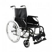 Fauteuil roulant pliable - Châssis en aluminium - Largeur d'assise de 39 à 51 cm - Pliable