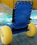 Fauteuil roulant pour piscine - Capacité de charge maximale : 120 kg