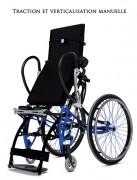 Fauteuil roulant verticalisateur