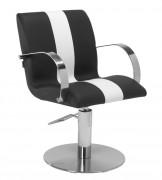 Fauteuil salon coiffure - Dimensions (L x P x H) : 58 x 60 x 84/99 cm