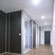 Faux plafonds de bureaux - Isolation du bruit et du froid