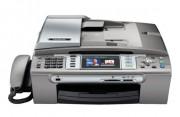Fax multifonction jet d'encre Brother - Combiné téléphonique, répondeur 30 mn