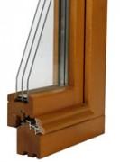 Fenêtre bois - Vitrage isolant jusqu'à 32 mm