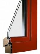 Fenêtre mixte bois aluminium - Étanchéité à l'air : A*4 A*4