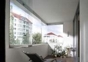 Fermeture balcon vitrée - Fermeture de balcon coulissante pour balcon et terrasse – Design et confort