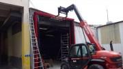 Fermeture sectionnelle sur-mesure - Pour garage